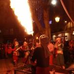 2013 - LA 'TIT FANFARE CIRKUS  - Iles sur sorgues - flammes
