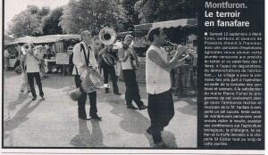 2009 - LA 'TIT FANFARE - Foire Bio MONTFURON
