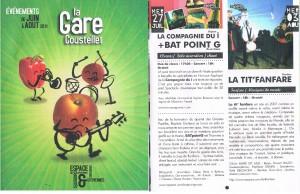 2011 - LA 'TIT FANFARE - La Gare de Coustellet - COUSTELLET