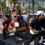 2015 Hestivoc La tit fanfare cirkus Caravane