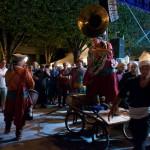 2015 Hestivoc La tit fanfare cirkus Caravane Nuit