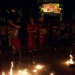 2015 Hestivoc La tit fanfare cirkus feu