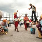2015 Orientalys La tit fanfare cirkus et echasse