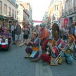 Festival d'été de QUÉBEC, Rue St Jean du 16 au 19 juillet 2015.